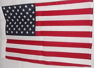 American-Flag-12-034-x-18-034-Garden-Flag-100-Poly-Cotton-with-Sleeve-for-Hanging