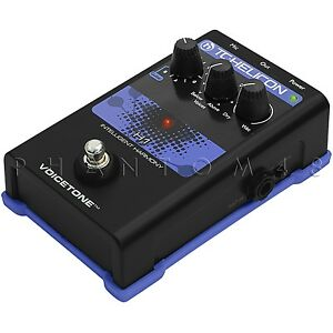 tc helicon voicetone h1 vocal harmony harmonizer electronic effects pedal new ebay. Black Bedroom Furniture Sets. Home Design Ideas