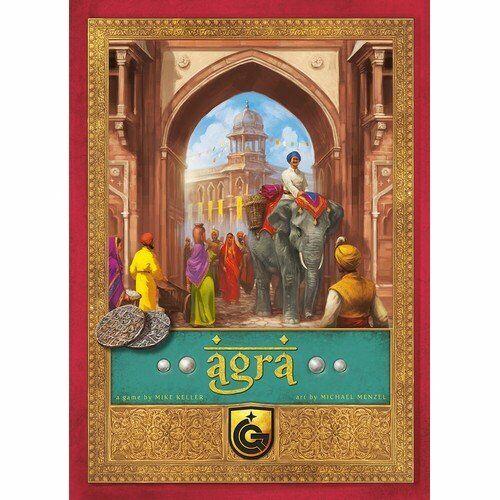 Agra, brettspiel, neu by quined Juegos, edición en varios idiomas idiomas idiomas d10