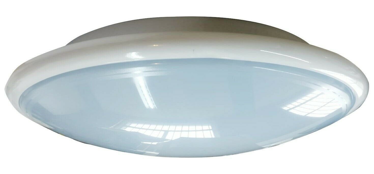 Mamparo de luz blancoa 3hr Saturn de emergencia Sensor Microondas Mw Metal 38W Esmerilado