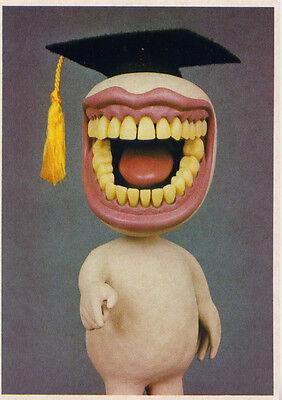 Jim Haberman Mortarboard Memories 1986 Sculpture & Photographs Postcard 4x6