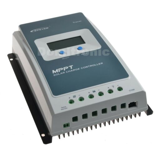 20A 10A Epever MPPT Solar Charge Controller 12V//24V Battery Regulator Max PV 60V