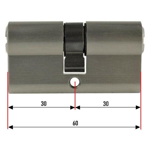 Schliessanlage konfigurieren gleichschliessend Knauf Profil Tür Zylinder Schloss