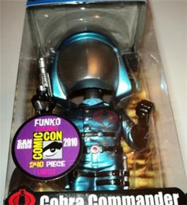Funko G.i.joe Cobra 2010 Comic Con Figura Limitada 1 De 240 de producción. Perfecto