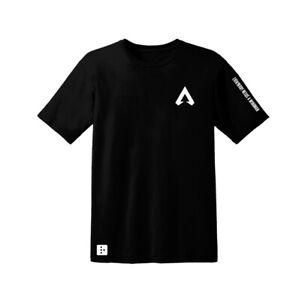 Apex-Legends-SteelSeries-Arctis-Gaming-PC-T-shirt-noir-La-Poitrine-Toutes-Tailles