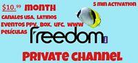 Machtv, Freedom, Pix, Activacion En 5 Minutos