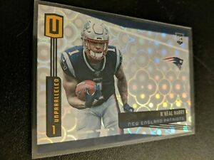 2019 PANINI UNPARALLELED GROOVE #230 N'KEAL HARRY ROOKIE CARD SP RC PATRIOT