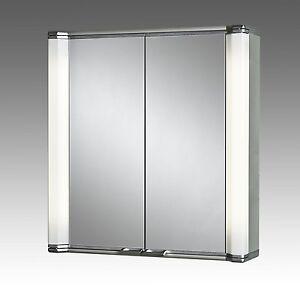 jokey alustar aluminium alibert spiegelschrank 70cm 2 t rig 224512010 alu star ebay. Black Bedroom Furniture Sets. Home Design Ideas