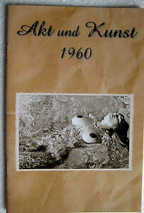 Magazin Akt Fotografie Foto Busen Männermagazin Akt /& Kunst 1987 TOP Zustand