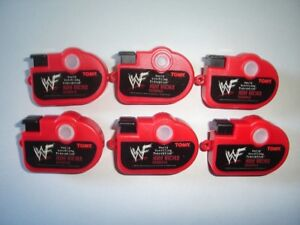 WWF-WRESTLING-MINI-VIEWERS-CAMERAS-SET-TOMY-FIGURES-COLLECTIBLES-MINIATURES