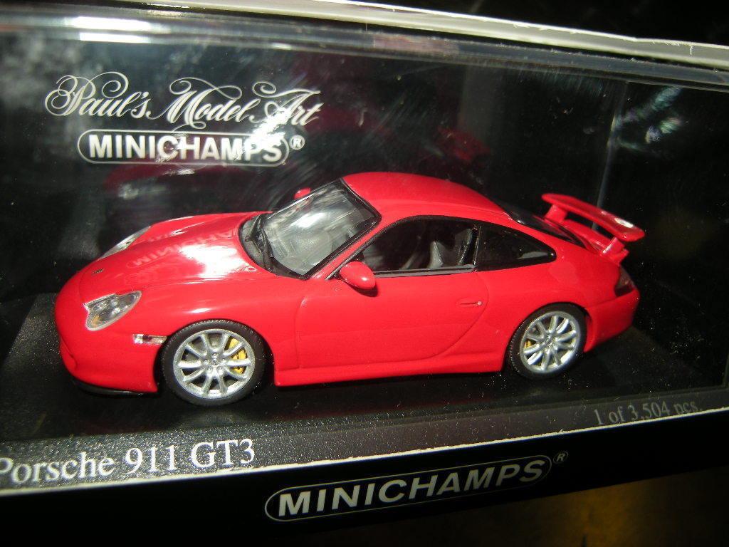1 43 Minichamps Porsche 911 GT3 2003 red red red red Nr. 400062020 OVP dd82f4
