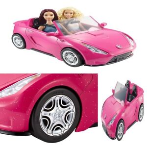 Barbie Pink Glam Convertible Car Doll Mattel Vehicle Toy