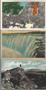 Vintage-Scenic-Postcards-Circa-1800-039-s-1900-039-s-Lot-of-5-Niagra-Falls