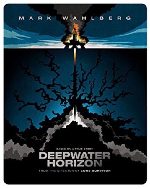 Deepwater Horizon Steelbook Blu-ray NEU OVP Mark Wahlberg