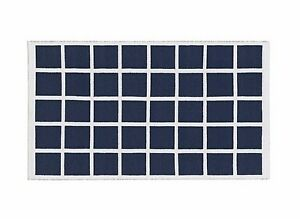 HOUSE-BY-JOHN-LEWIS-GRID-RUG-SIZE-170CM-X-110CM-IN-NAVY-WHITE-NEW-RRP-60-00