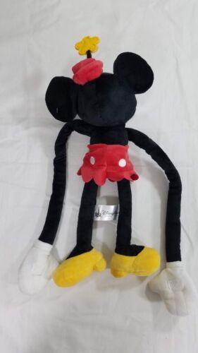 "Disney Parks Comic Pie Eyed Minnie Mouse Long Arms Plush 24/"" New Longarm"