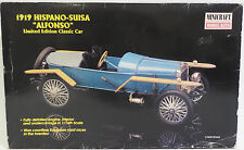 CARS : 1919 HISPANO-SUISA ALFONSO 1/16 SCALE MODEL KIT BY MINICRAFT MODEL KITS