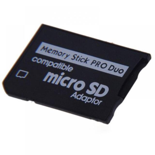 PSP Adapter TF To MS Writer Memory Stick MS Pro Duo Micro SD Adaptor Converter
