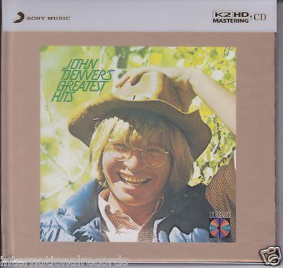 """John Denver - Greatest Hits"" Limited Numbered Japan 100KHz/24bit K2HD CD New"