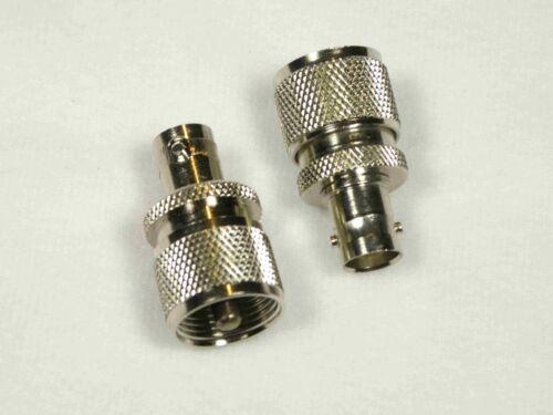 c RF Wattmeter Adapters 4240-050 UHF to 4240-125 BNC Bird 43 Thruline Pair
