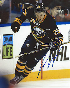 Zemgus-Girgensons-Signed-8x10-Photo-Buffalo-Sabres-Autographed-COA