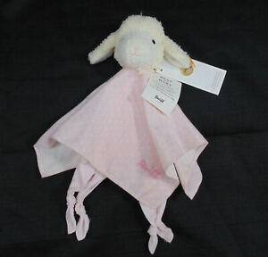 STEIFF-237430-SWEET-DREAMS-LAMB-COMFORTER-PINK-PLUSH-TOY-STUFFED-ANIMAL