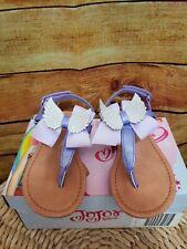 JoJo Siwa JOJO WINGS SANDAL Angel Wings Purple Sandals Shoes Toddler Girls Sz 9