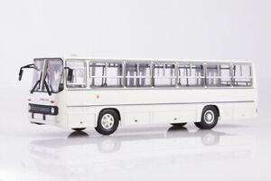 SOVA-900117-1-43-IKARUS-260-USSR-Russian-Bus-1971-2002-White