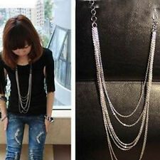 New Fashion Women's Jewelry Retro Style Long tassel Sweater Chain Necklace