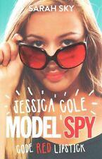 Code Red Lipstick (Jessica Cole: Model Spy)-ExLibrary