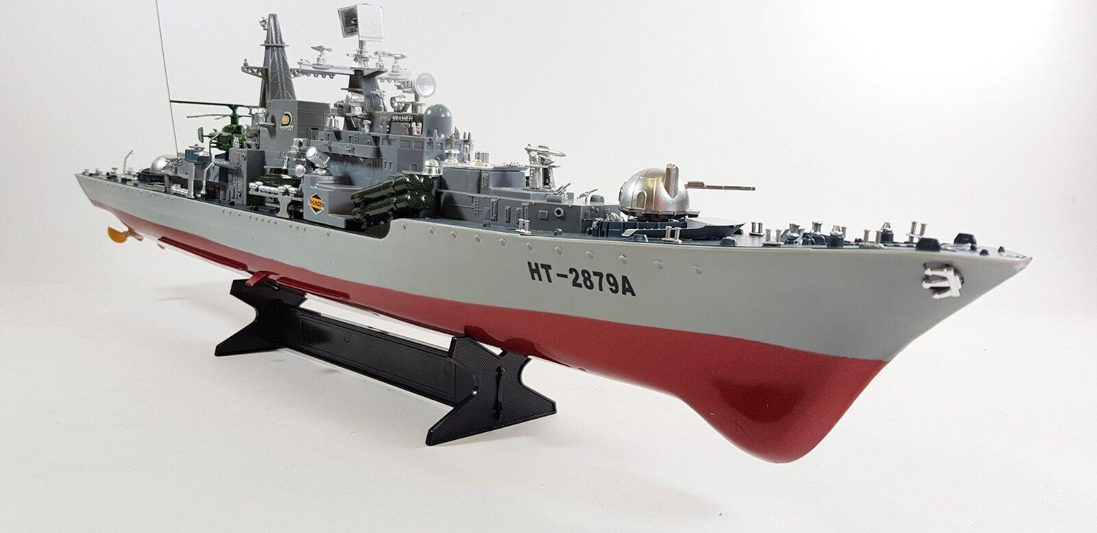 HUGE Remote Control R C Naval Nuclear Destroyer Model Toy Battleship Boat War