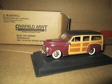 woody station wagon  1/43 fairfield mint burgandy
