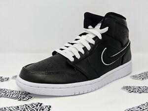 huge selection of 6162e 5779c Image is loading Nike-Air-Jordan-Retro-I-1-Mid-Maybe-