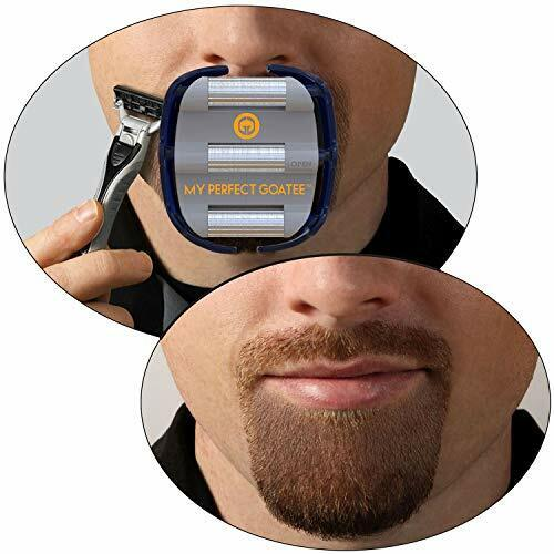 Mens Goatee Shaving Template | Create a Perfectly Shaped Goatee Every Time | ...