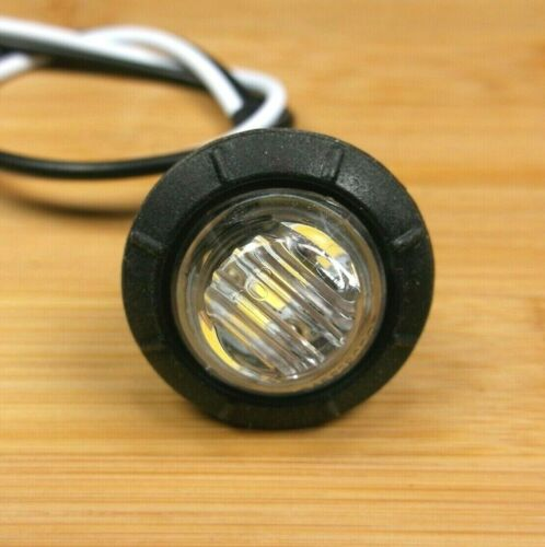 10 BBT 12 volt Waterproof White LED Push-In Marine Grade Step Lights
