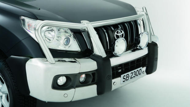 Toyota Prado 150 Series Genuine Accessory Alloy Bullbar