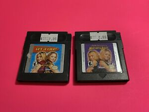 WORKING-NINTENDO-GAMEBOY-COLOR-GAME-LOT-Mary-Kate-amp-Ashley-2-PACK