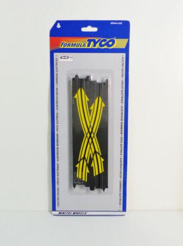 Circuit Ho Slot TYCO Mattel 34691 2 x Rails changement de file Criss Cross Neufs