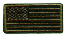 Aufnäher US Army oliv USA Fahne OD green Patch