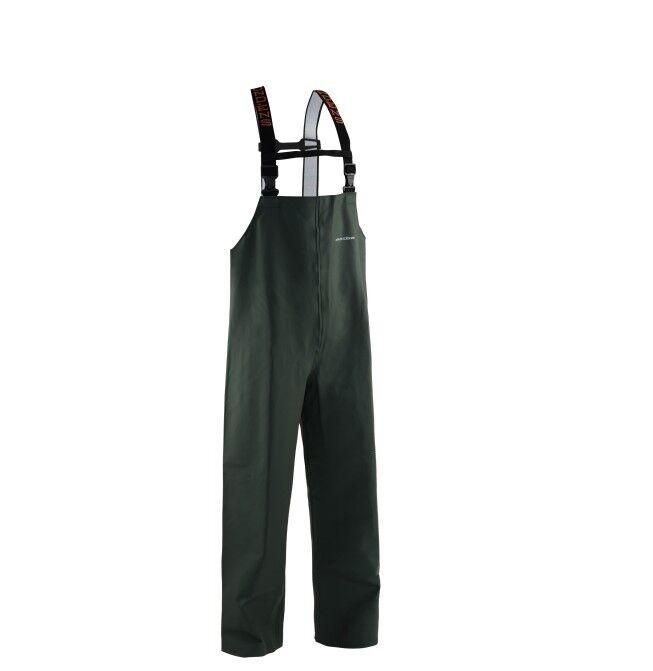 Grundens Nordan BIB trousers verde pioggia pantaloni pants cerata