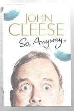 SO ANYWAY John Cleese Autobiography 2014 1st ed HB DJ Book Memoirs Monty Python