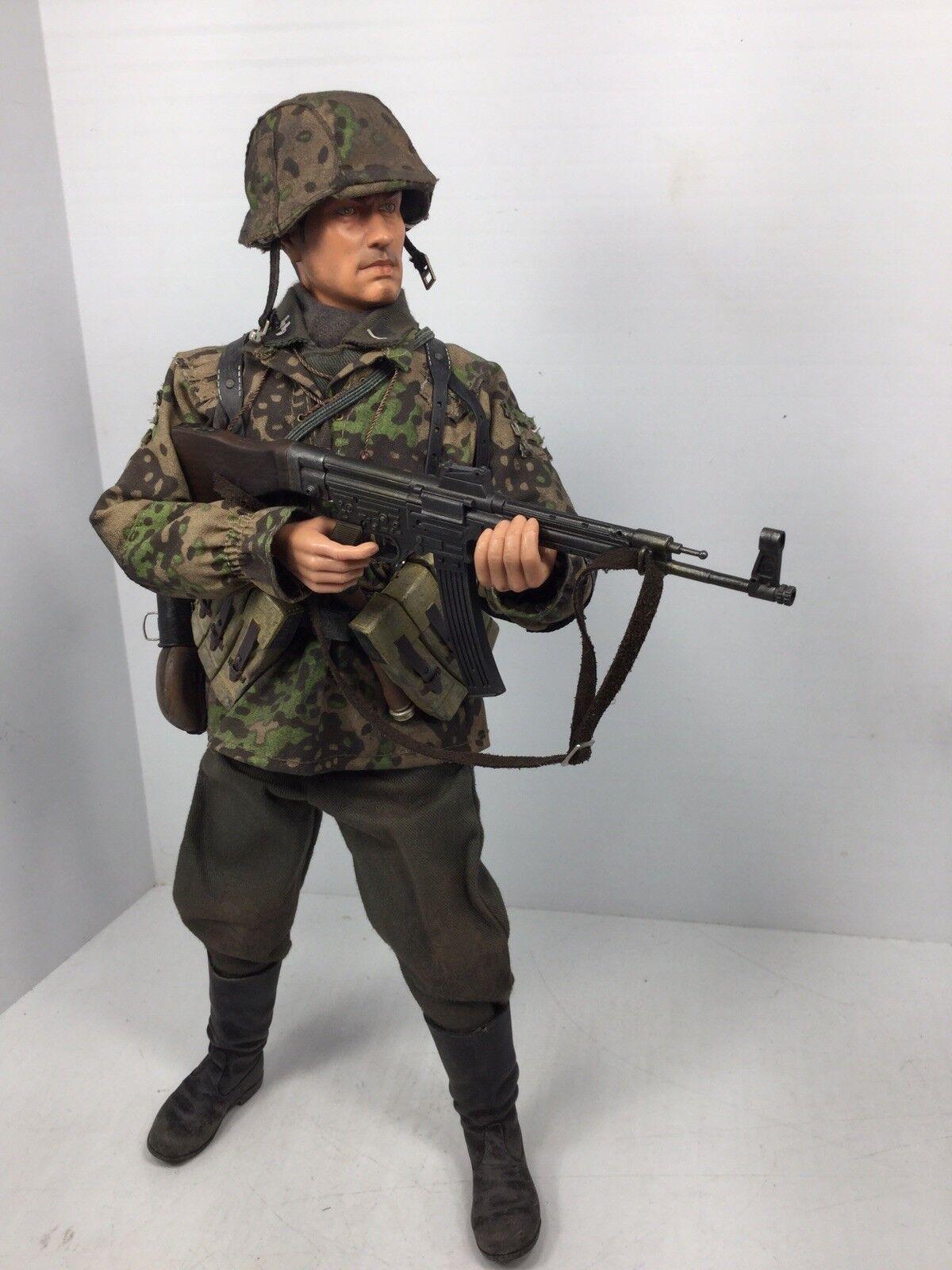 1 6 2ND Dragon  dasreich  división Granadero MP-44 Camo Segunda Guerra Mundial BBI 21st CENTURY DID