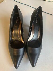Calvin Klein Womens Shoes Heels Black