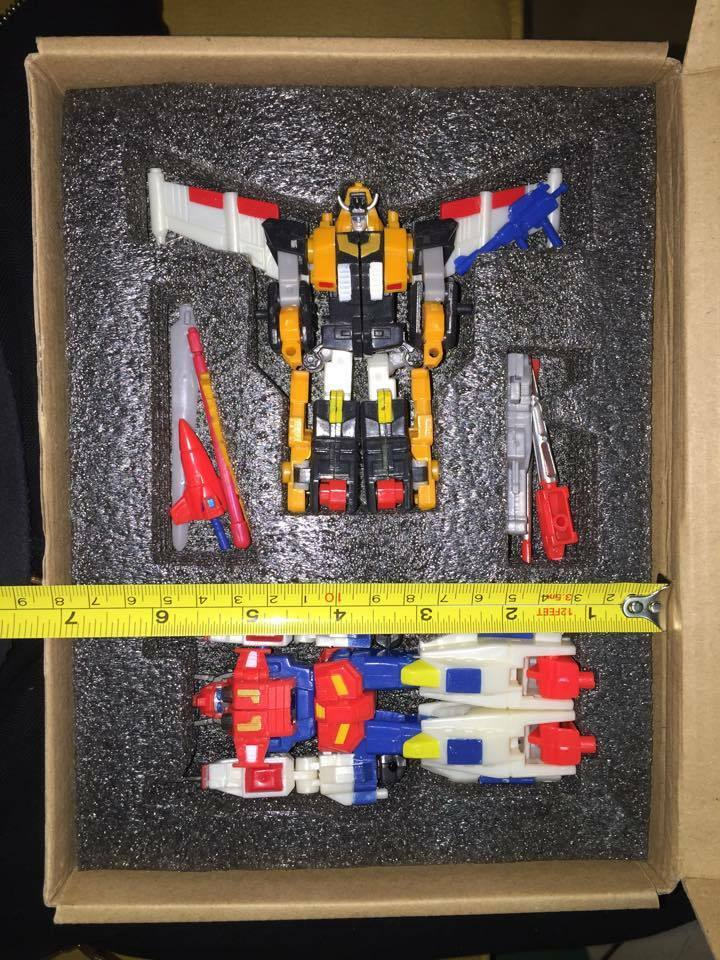 Ko Robot Masters RM-17 Victory Leo & Victory Saber Set Transformers New