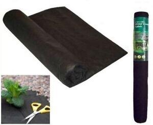 Section SpéCiale Weed Control Membrane 8m X 1.5m Bâche Couverture Jardin Tissu Terrasse Pavage 12m2-afficher Le Titre D'origine