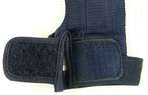 10 ohne Finger Rigger Gloves Bühnenbau BluePort Roadie Handschuhe Leder Gr XL