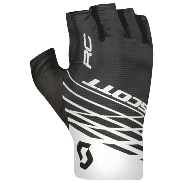 White Scott RC Pro Fingerless Cycling Gloves