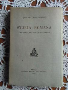 Storia-Romana-J-Vogt-amp-E-Kornemann-Macchiaroli-1946