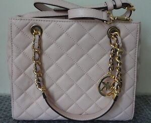 c167ee4896 NWT Michael Kors Susannah Small North South Tote Quilted Leather ...