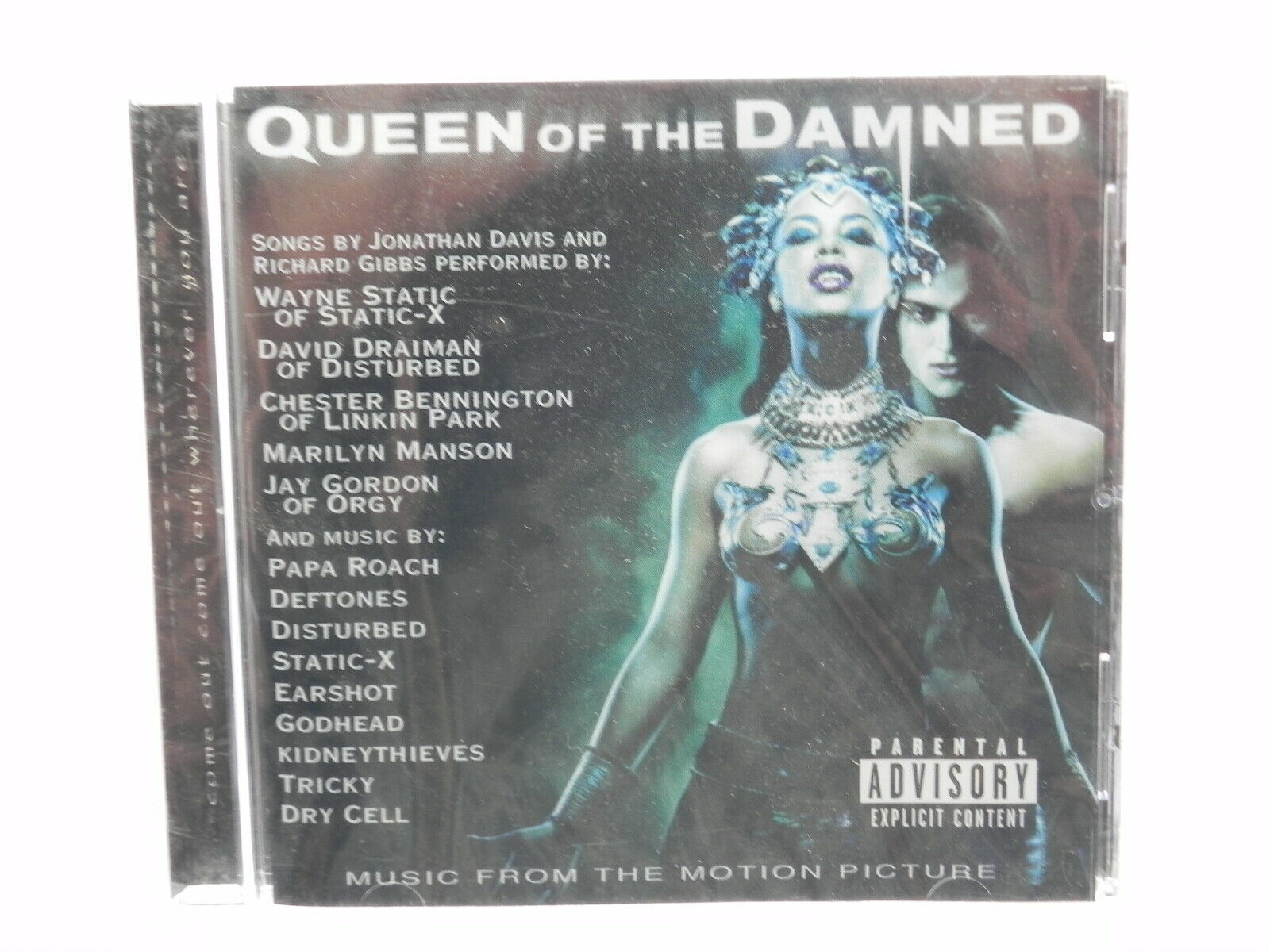 Queen Of The Damned Orginal Motion Picture Soundtrack Pa By Various Artists Cd Feb 2002 Warner Bros For Sale Online Ebay Alternative rock, soundtrack, industrial, nu metal. queen of the damned orginal motion picture soundtrack pa by various artists cd feb 2002 warner bros